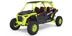 2021 Polaris RZR Turbo S 4 Lifted Lime LE